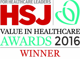 HSJ value in healthcare 2016 award winner